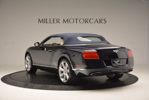 Used 2012 Bentley Continental GTC for sale Sold at Aston Martin of Greenwich in Greenwich CT 06830 18
