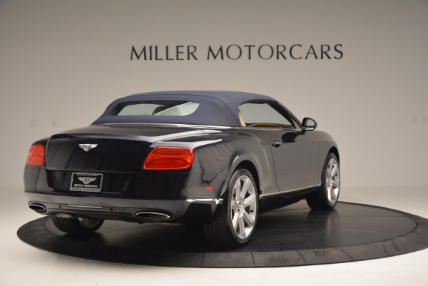 Used 2012 Bentley Continental GTC for sale Sold at Aston Martin of Greenwich in Greenwich CT 06830 20