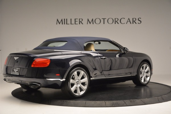 Used 2012 Bentley Continental GTC for sale Sold at Aston Martin of Greenwich in Greenwich CT 06830 21