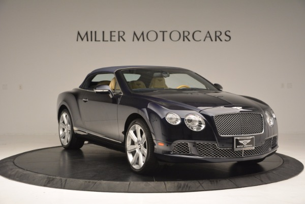 Used 2012 Bentley Continental GTC for sale Sold at Aston Martin of Greenwich in Greenwich CT 06830 24