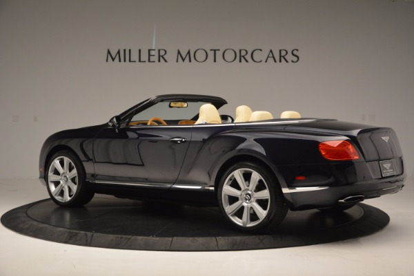 Used 2012 Bentley Continental GTC for sale Sold at Aston Martin of Greenwich in Greenwich CT 06830 4