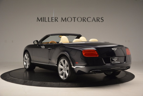 Used 2012 Bentley Continental GTC for sale Sold at Aston Martin of Greenwich in Greenwich CT 06830 5