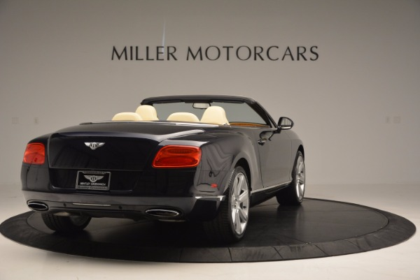 Used 2012 Bentley Continental GTC for sale Sold at Aston Martin of Greenwich in Greenwich CT 06830 7