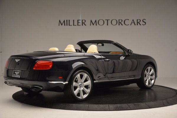 Used 2012 Bentley Continental GTC for sale Sold at Aston Martin of Greenwich in Greenwich CT 06830 8