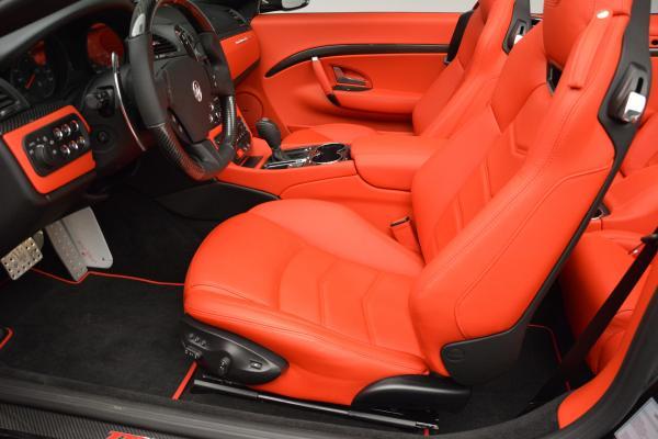 New 2016 Maserati GranTurismo Convertible MC for sale Sold at Aston Martin of Greenwich in Greenwich CT 06830 21