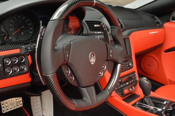 New 2016 Maserati GranTurismo Convertible MC for sale Sold at Aston Martin of Greenwich in Greenwich CT 06830 24