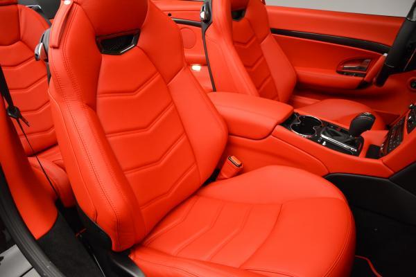 New 2016 Maserati GranTurismo Convertible MC for sale Sold at Aston Martin of Greenwich in Greenwich CT 06830 28