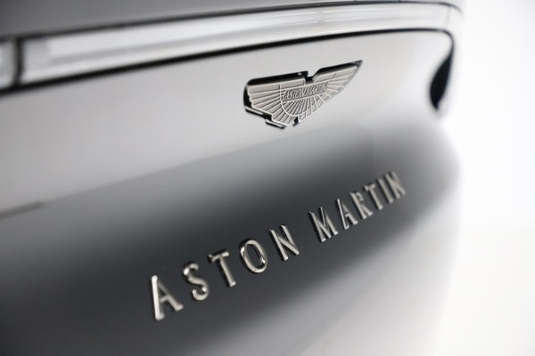 New 2020 Aston Martin DBX SUV for sale Call for price at Aston Martin of Greenwich in Greenwich CT 06830 27