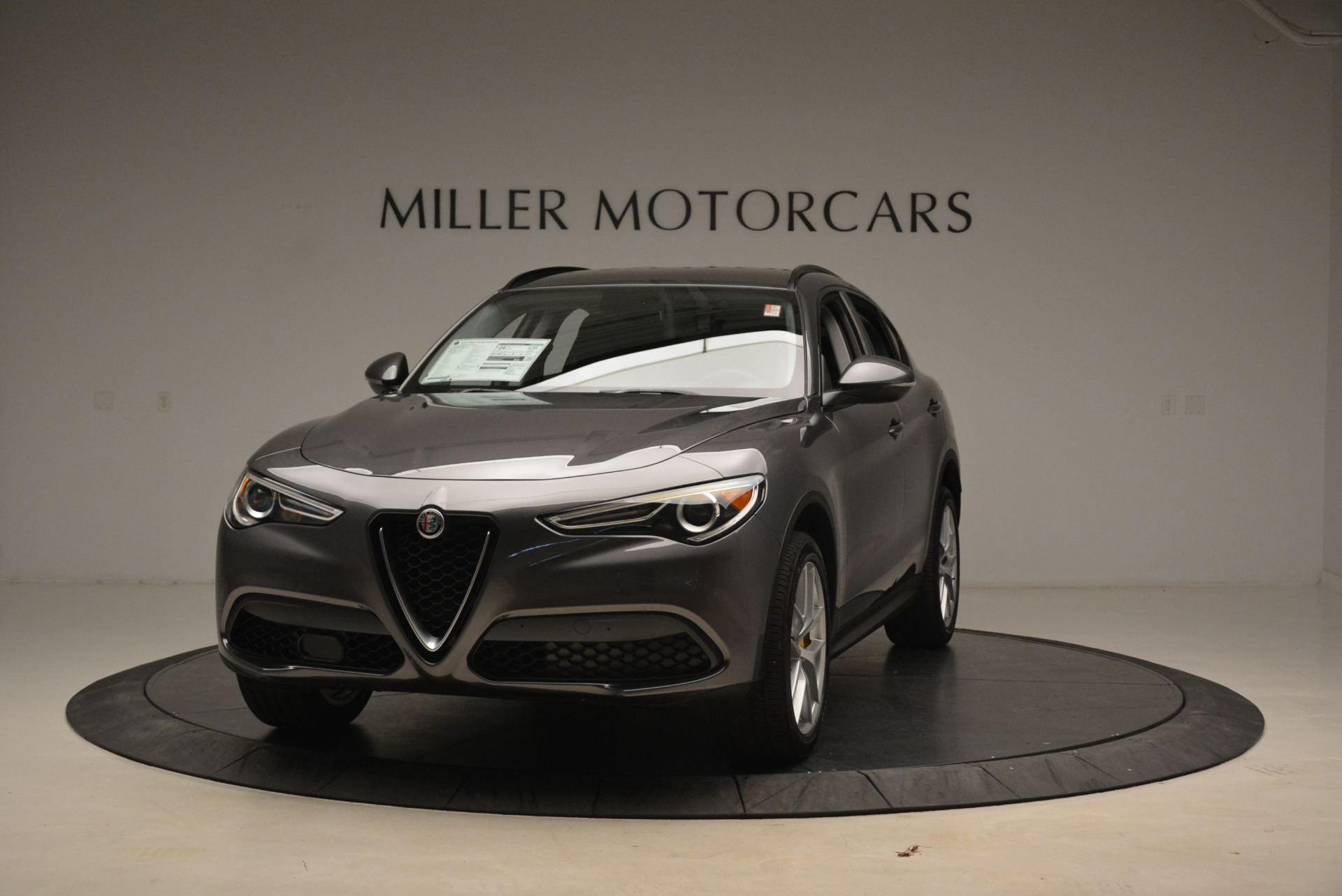 New 2018 Alfa Romeo Stelvio Sport Q4 for sale Sold at Aston Martin of Greenwich in Greenwich CT 06830 1