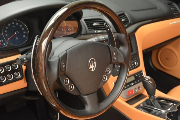 Used 2012 Maserati GranTurismo for sale Sold at Aston Martin of Greenwich in Greenwich CT 06830 24
