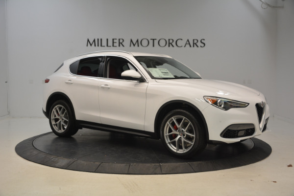 New 2018 Alfa Romeo Stelvio Q4 for sale Sold at Aston Martin of Greenwich in Greenwich CT 06830 10