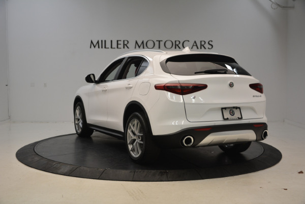 New 2018 Alfa Romeo Stelvio Q4 for sale Sold at Aston Martin of Greenwich in Greenwich CT 06830 5