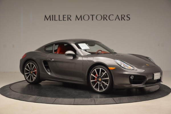 Used 2014 Porsche Cayman S S for sale Sold at Aston Martin of Greenwich in Greenwich CT 06830 10