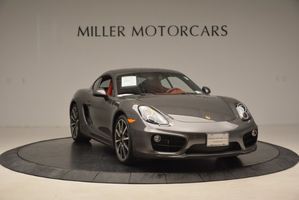 Used 2014 Porsche Cayman S S for sale Sold at Aston Martin of Greenwich in Greenwich CT 06830 11