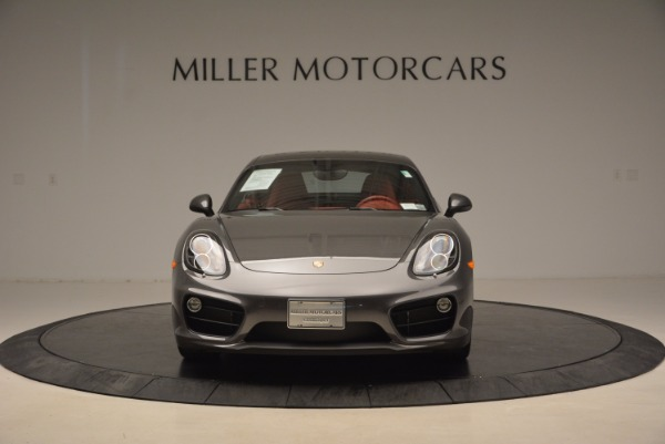 Used 2014 Porsche Cayman S S for sale Sold at Aston Martin of Greenwich in Greenwich CT 06830 12