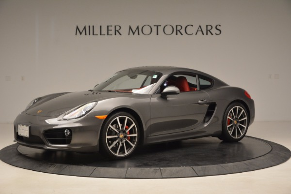 Used 2014 Porsche Cayman S S for sale Sold at Aston Martin of Greenwich in Greenwich CT 06830 2