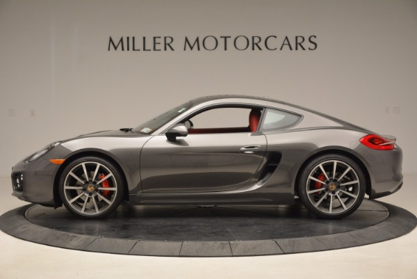 Used 2014 Porsche Cayman S S for sale Sold at Aston Martin of Greenwich in Greenwich CT 06830 3