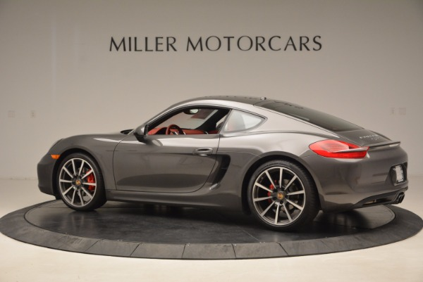 Used 2014 Porsche Cayman S S for sale Sold at Aston Martin of Greenwich in Greenwich CT 06830 4
