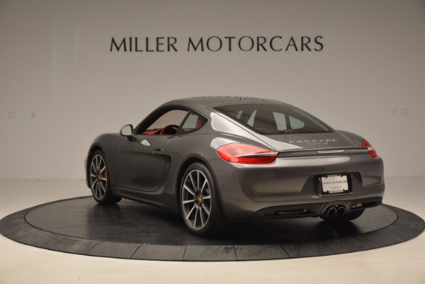 Used 2014 Porsche Cayman S S for sale Sold at Aston Martin of Greenwich in Greenwich CT 06830 5