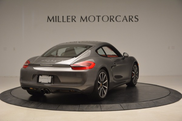 Used 2014 Porsche Cayman S S for sale Sold at Aston Martin of Greenwich in Greenwich CT 06830 7