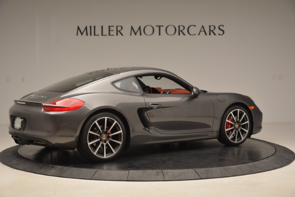 Used 2014 Porsche Cayman S S for sale Sold at Aston Martin of Greenwich in Greenwich CT 06830 8