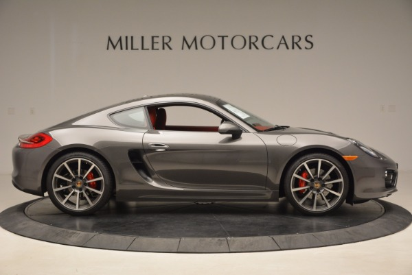 Used 2014 Porsche Cayman S S for sale Sold at Aston Martin of Greenwich in Greenwich CT 06830 9