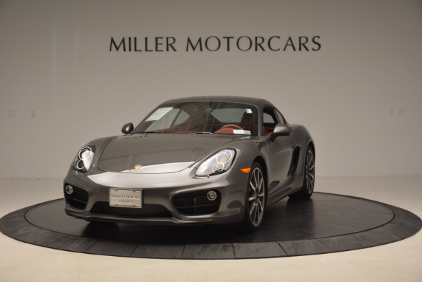 Used 2014 Porsche Cayman S S for sale Sold at Aston Martin of Greenwich in Greenwich CT 06830 1
