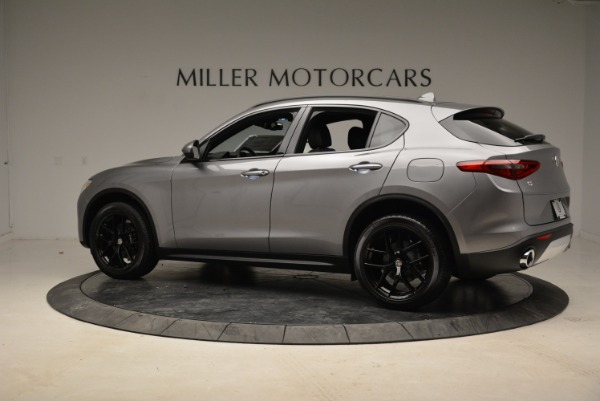 New 2018 Alfa Romeo Stelvio Ti Sport Q4 for sale Sold at Aston Martin of Greenwich in Greenwich CT 06830 4