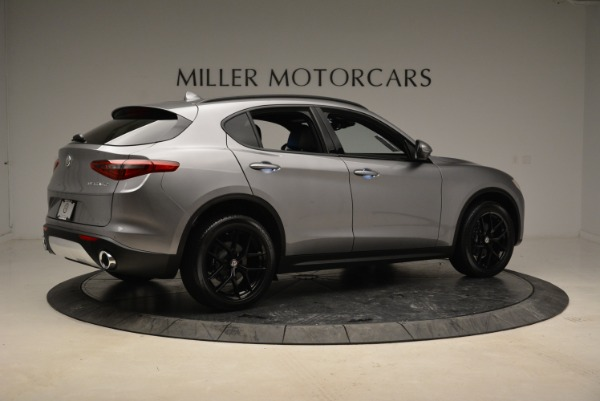 New 2018 Alfa Romeo Stelvio Ti Sport Q4 for sale Sold at Aston Martin of Greenwich in Greenwich CT 06830 8