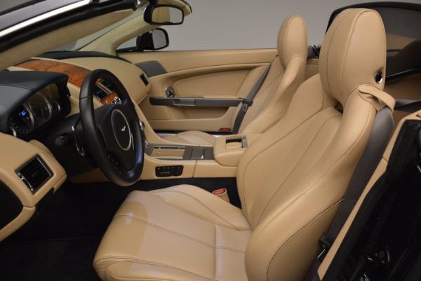 Used 2014 Aston Martin V8 Vantage Roadster for sale Sold at Aston Martin of Greenwich in Greenwich CT 06830 20