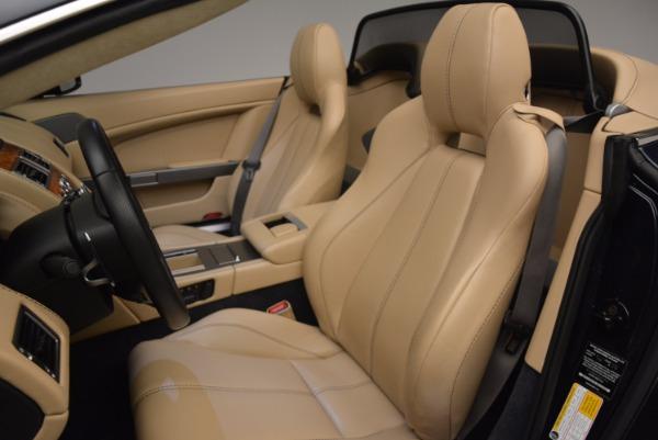 Used 2014 Aston Martin V8 Vantage Roadster for sale Sold at Aston Martin of Greenwich in Greenwich CT 06830 23