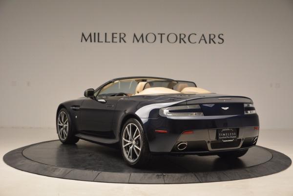 Used 2014 Aston Martin V8 Vantage Roadster for sale Sold at Aston Martin of Greenwich in Greenwich CT 06830 5
