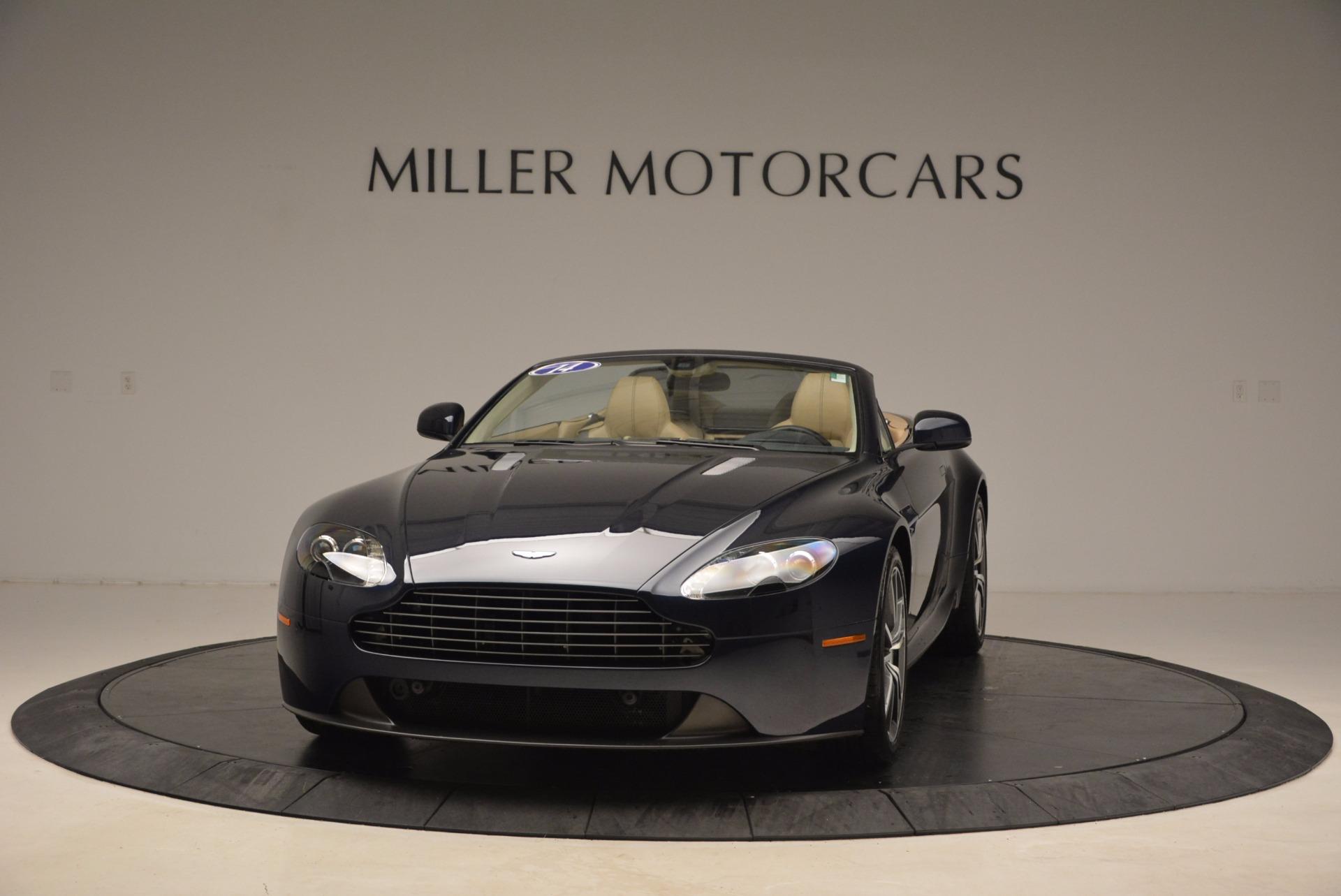 Used 2014 Aston Martin V8 Vantage Roadster for sale Sold at Aston Martin of Greenwich in Greenwich CT 06830 1