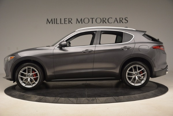 New 2018 Alfa Romeo Stelvio Q4 for sale Sold at Aston Martin of Greenwich in Greenwich CT 06830 3
