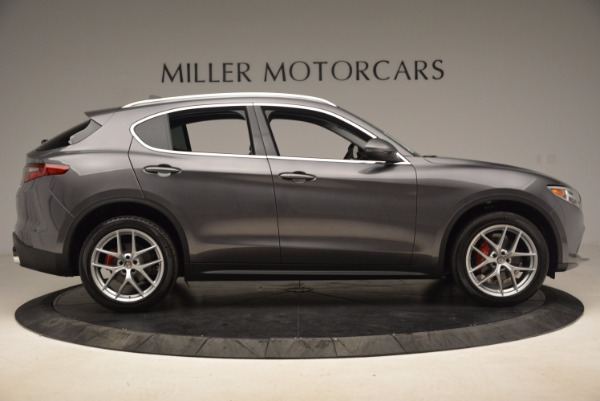 New 2018 Alfa Romeo Stelvio Q4 for sale Sold at Aston Martin of Greenwich in Greenwich CT 06830 9