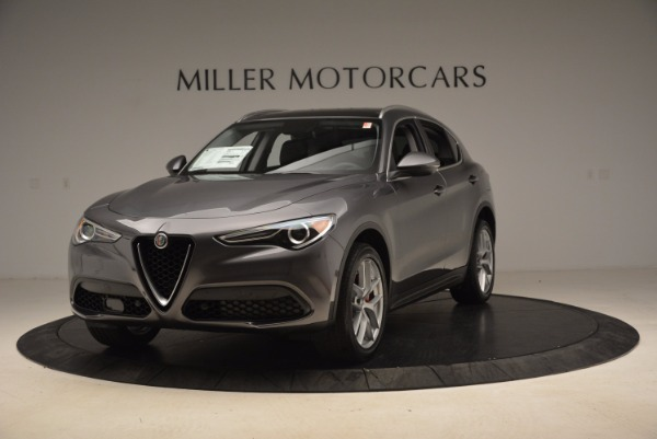 New 2018 Alfa Romeo Stelvio Q4 for sale Sold at Aston Martin of Greenwich in Greenwich CT 06830 1