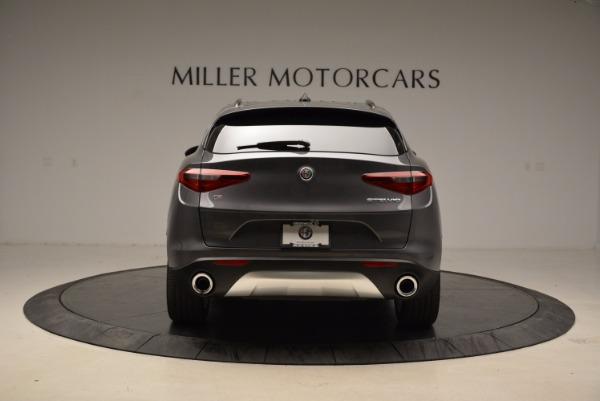 New 2018 Alfa Romeo Stelvio Ti Sport Q4 for sale Sold at Aston Martin of Greenwich in Greenwich CT 06830 6