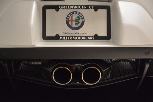 New 2018 Alfa Romeo 4C Coupe for sale Sold at Aston Martin of Greenwich in Greenwich CT 06830 22