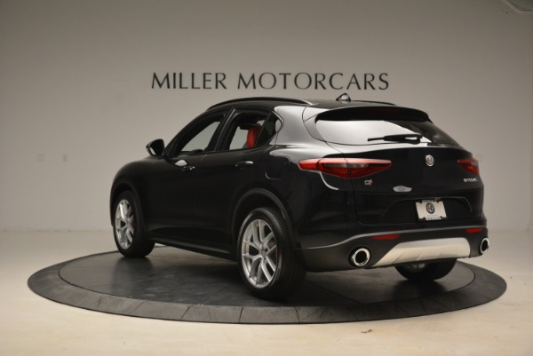 New 2018 Alfa Romeo Stelvio Sport Q4 for sale Sold at Aston Martin of Greenwich in Greenwich CT 06830 5