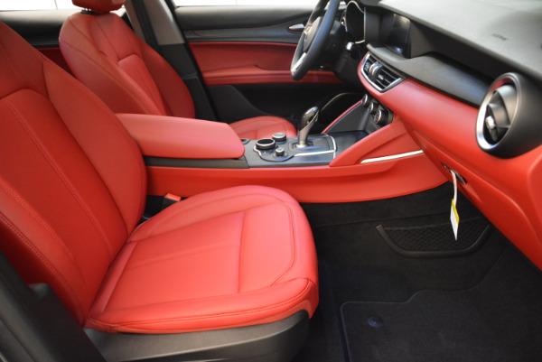 New 2018 Alfa Romeo Stelvio Q4 for sale Sold at Aston Martin of Greenwich in Greenwich CT 06830 17