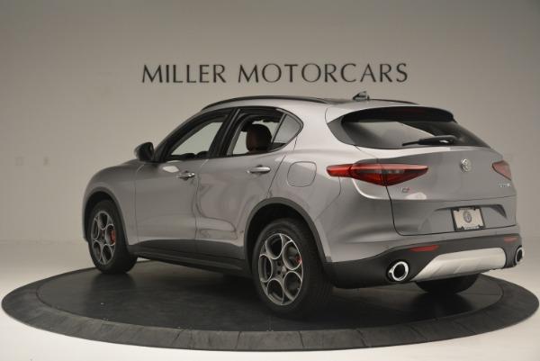 New 2018 Alfa Romeo Stelvio Sport Q4 for sale Sold at Aston Martin of Greenwich in Greenwich CT 06830 4
