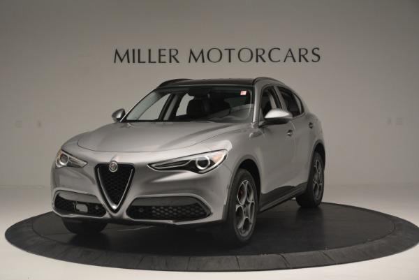 New 2018 Alfa Romeo Stelvio Sport Q4 for sale Sold at Aston Martin of Greenwich in Greenwich CT 06830 1