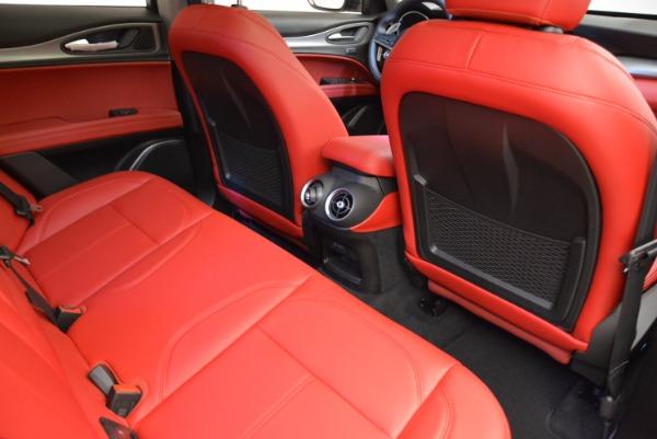 New 2018 Alfa Romeo Stelvio Sport Q4 for sale Sold at Aston Martin of Greenwich in Greenwich CT 06830 22