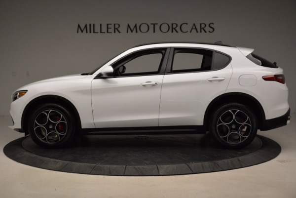 New 2018 Alfa Romeo Stelvio Sport Q4 for sale Sold at Aston Martin of Greenwich in Greenwich CT 06830 3