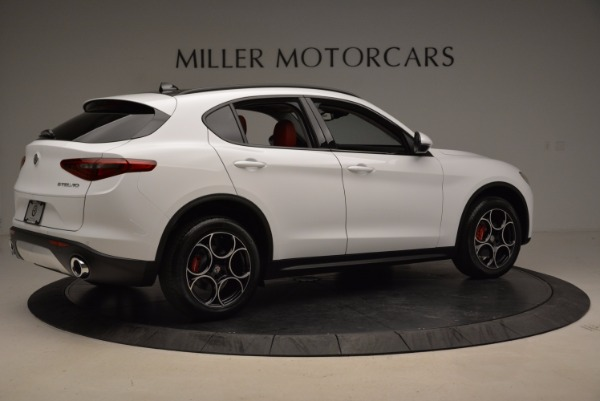 New 2018 Alfa Romeo Stelvio Sport Q4 for sale Sold at Aston Martin of Greenwich in Greenwich CT 06830 8
