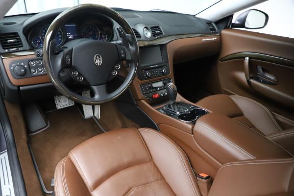 Used 2016 Maserati GranTurismo Sport for sale Sold at Aston Martin of Greenwich in Greenwich CT 06830 13