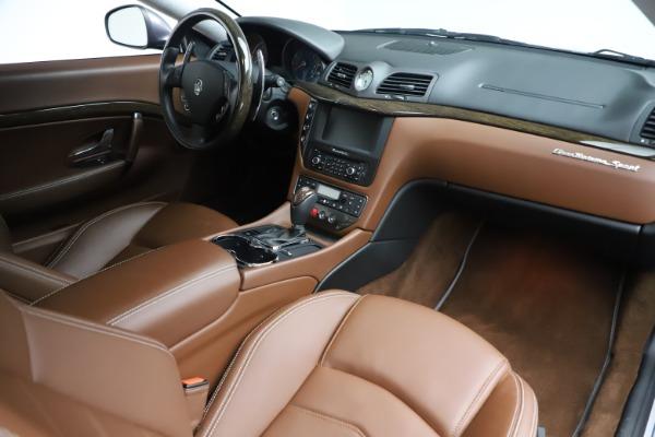 Used 2016 Maserati GranTurismo Sport for sale Sold at Aston Martin of Greenwich in Greenwich CT 06830 18