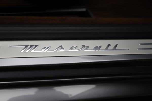 Used 2016 Maserati GranTurismo Sport for sale Sold at Aston Martin of Greenwich in Greenwich CT 06830 22