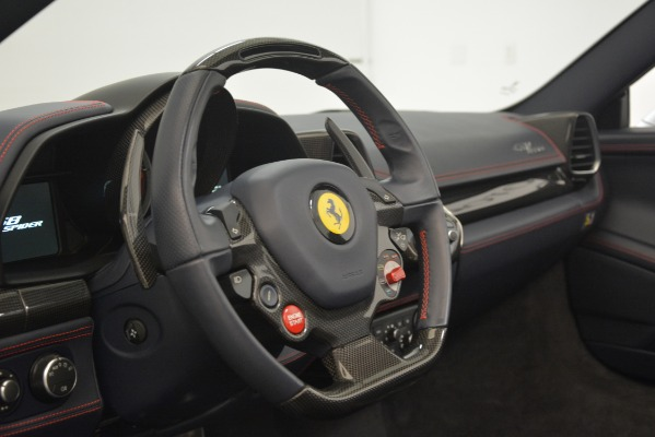 Used 2015 Ferrari 458 Spider for sale Sold at Aston Martin of Greenwich in Greenwich CT 06830 26