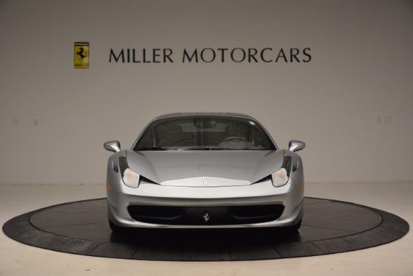Used 2014 Ferrari 458 Italia for sale Sold at Aston Martin of Greenwich in Greenwich CT 06830 12